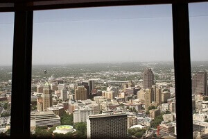 View from the Tower of the Americas