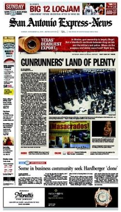 Gunrunner's land of plenty