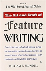 Book review - Learn about the Art and Craft of Feature Writing by William Blundell