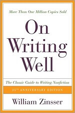 Book review - On Writing Well by William Zinsser