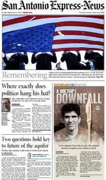 Story about Dr. John Christian Gunn in the San Antonio Express-News