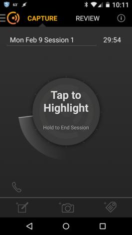 Cogi Tap to Highlight Screen