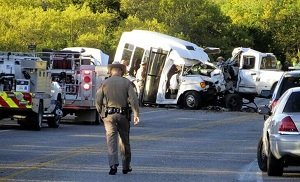 Deadly church bus crash kills 13 near Garner State Park
