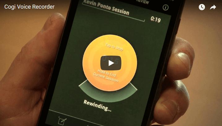 Cogi recording smartphone app